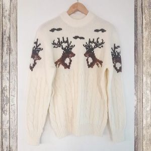 Vintage 🦌 Sweater with dears